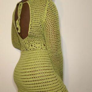 Crochet Dress / Beach Cover Up